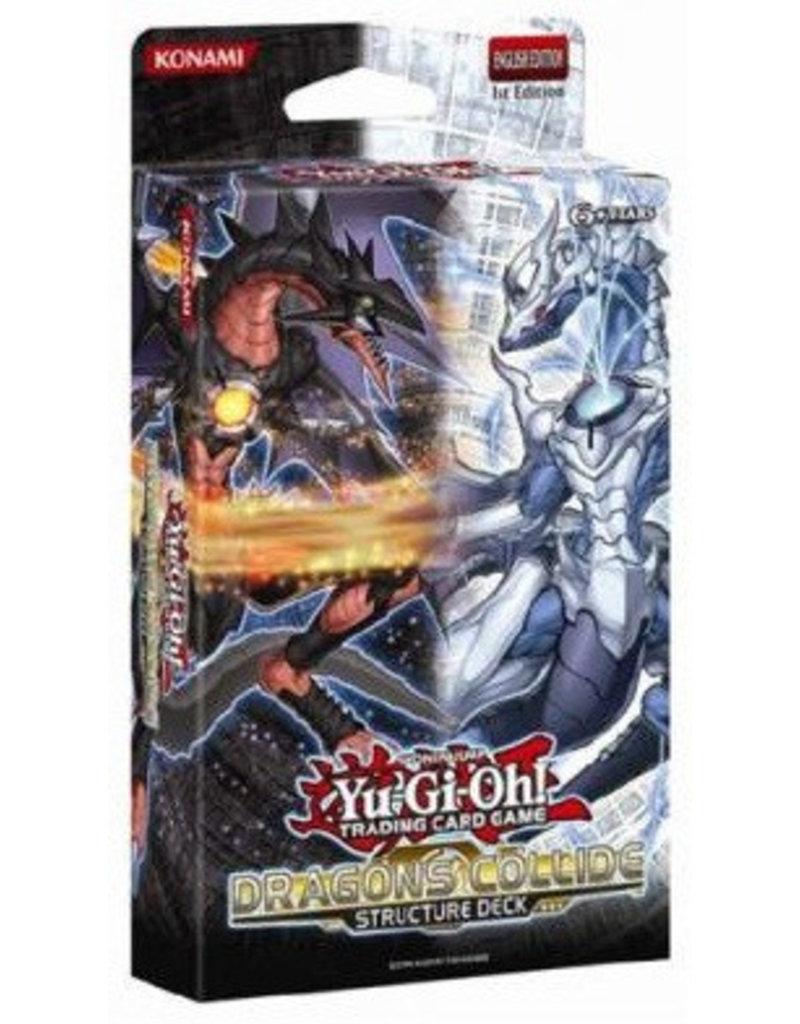 Konami Yugioh Dragons Collide Structure Deck