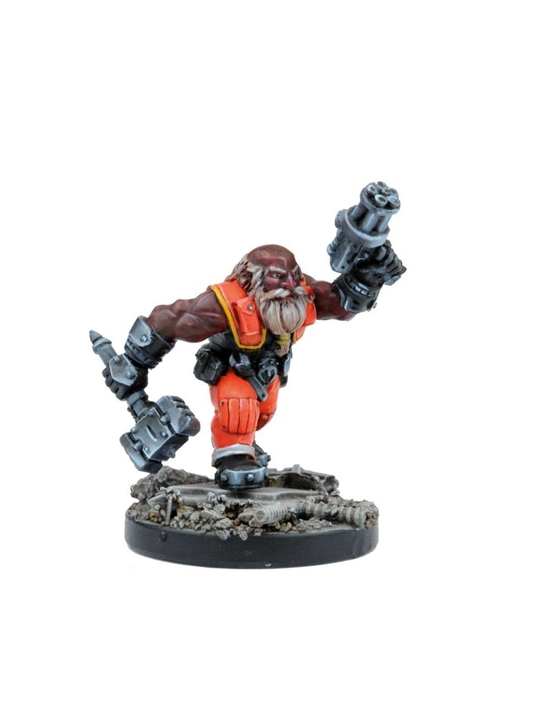 Mantic Games Warpath / Deadzone: Forge Father Brokkrs