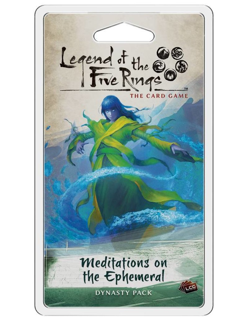Fantasy Flight Games Legend Of The Five Rings: Meditations on the Ephemeral Expansion Pack