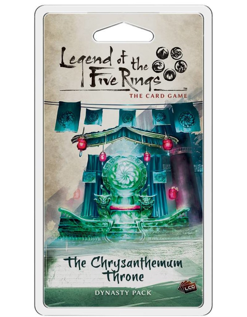 Fantasy Flight Games Legend Of The Five Rings: The Chrysanthemum Throne Expansion Pack