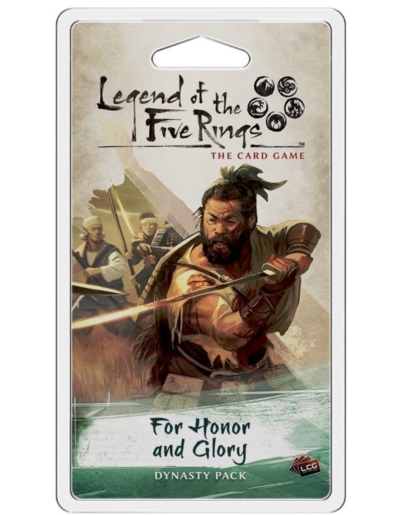 Fantasy Flight Games Legend Of The Five Rings: For Honor and Glory Expansion Pack