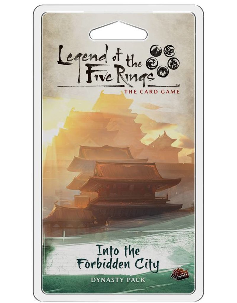 Fantasy Flight Games Legend Of The Five Rings: Into the Forbidden City Expansion Pack