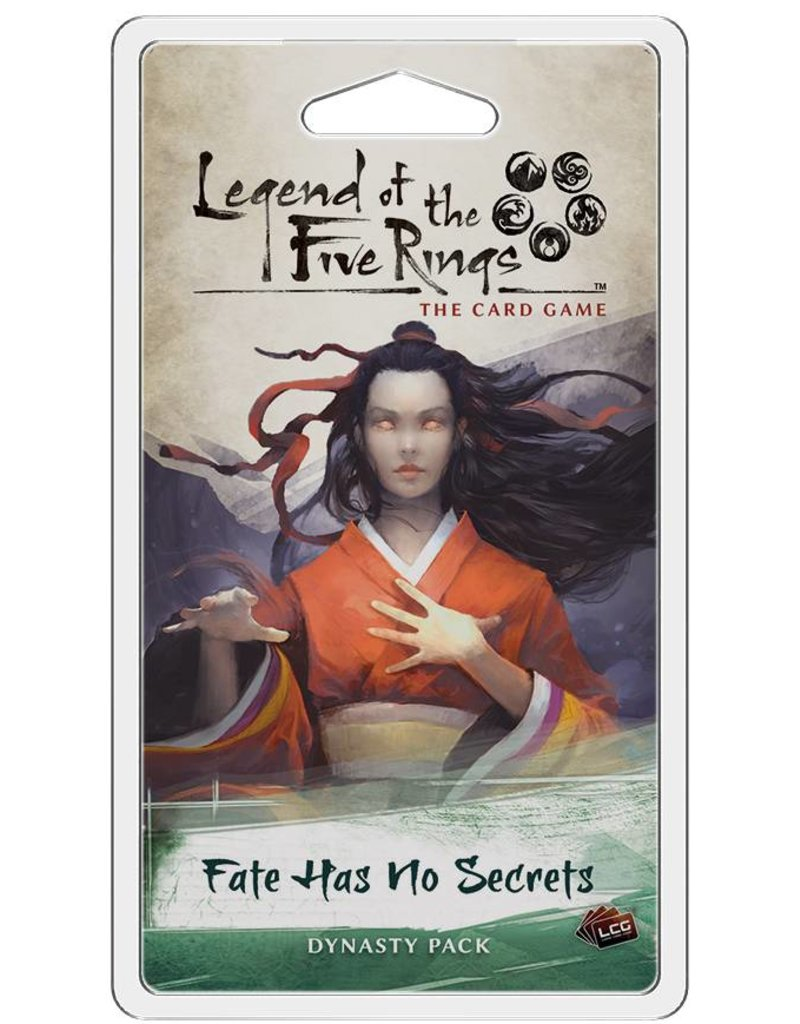 Fantasy Flight Games Legend Of The Five Rings: Fate Has No Secrets Expansion Pack