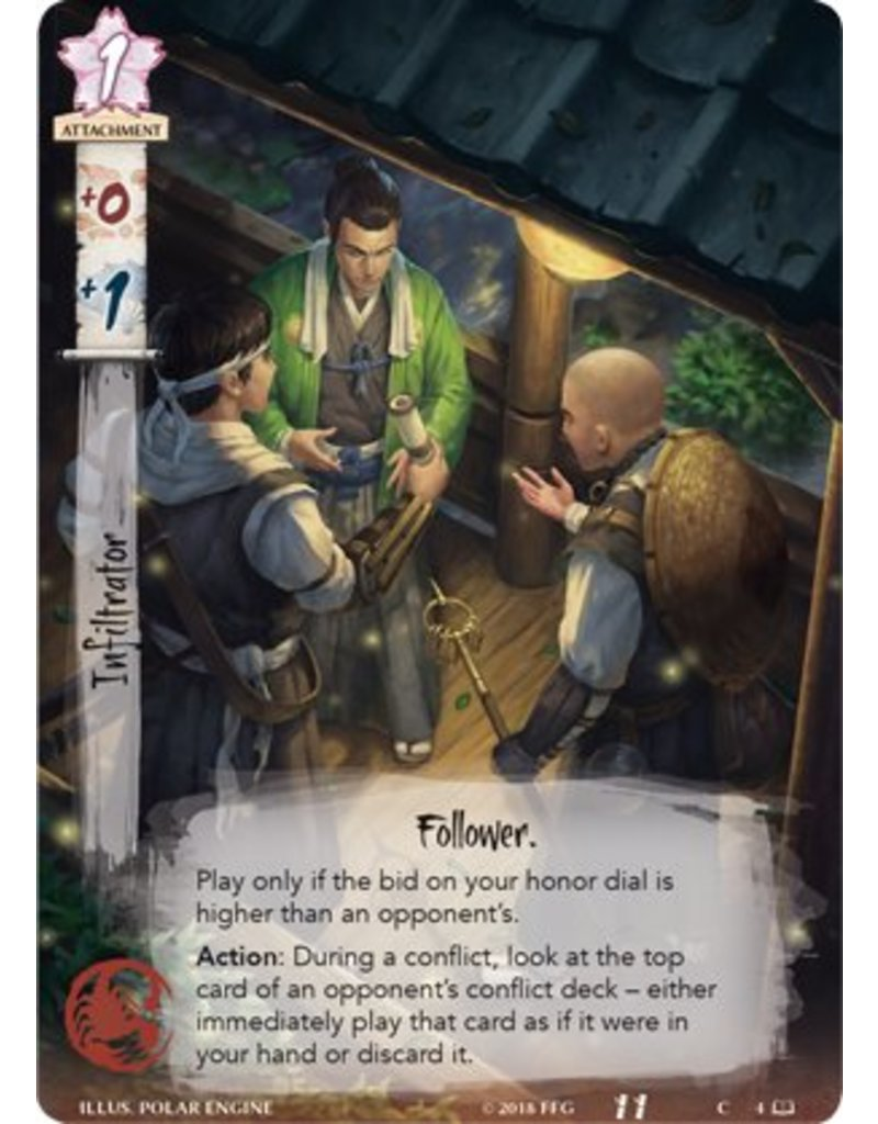 Fantasy Flight Games L5R: Whispers Of Shadow And Steel Novella