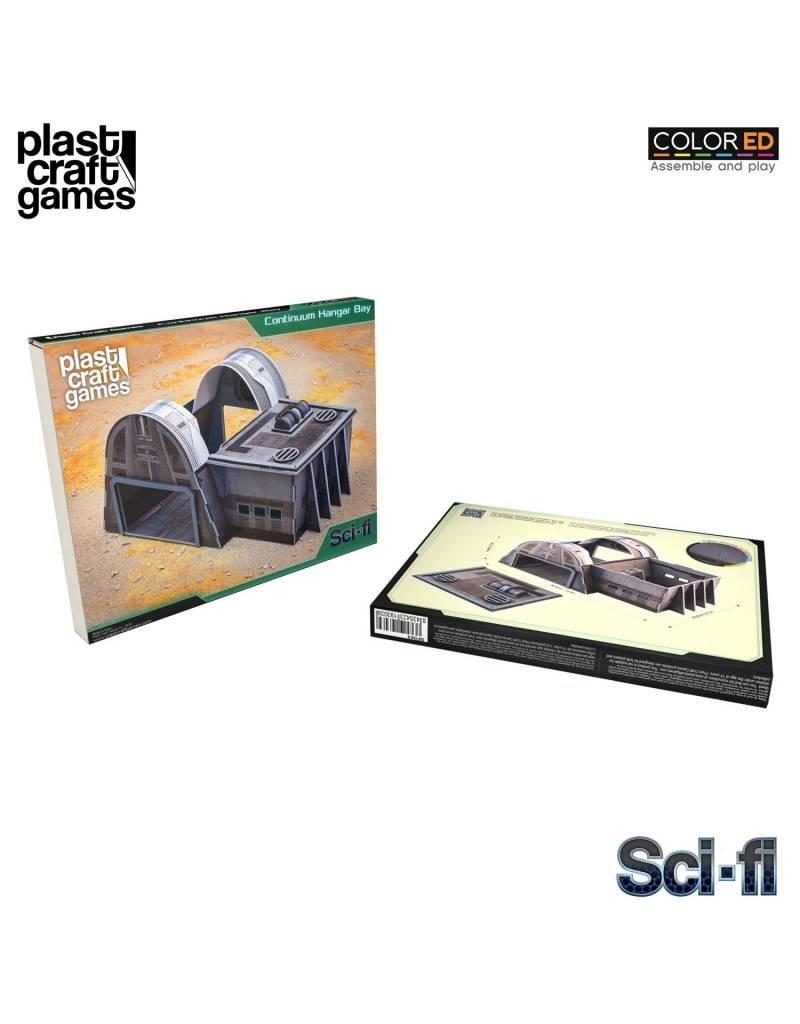 Plastcraft 28-32mm Scale Sci-fi Scenery - Continuum Hangar Bay