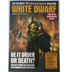 Games Workshop White Dwarf July 2018