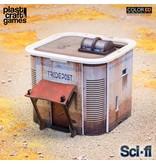 Plastcraft 28-32mm Scale Sci-fi Scenery - Consortium Tradepost