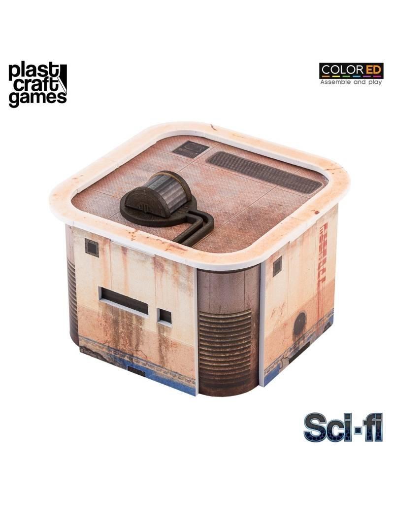Plastcraft 28-32mm Scale Sci-fi Scenery - Consortium House-pod