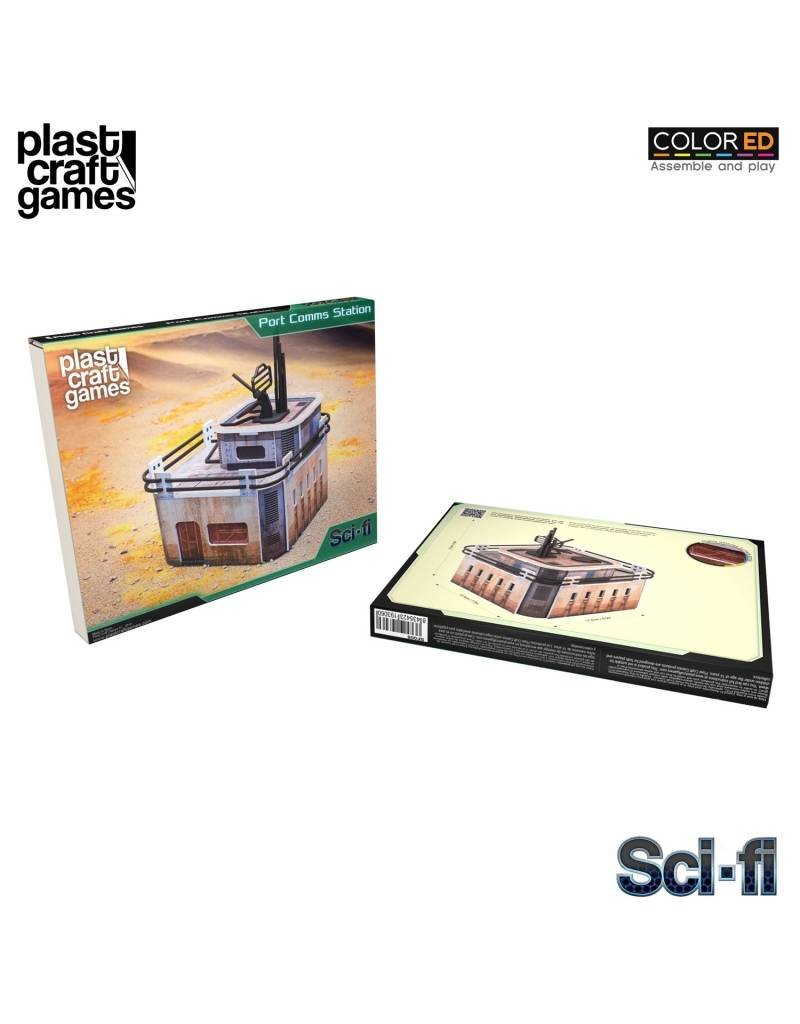 Plastcraft 28-32mm Scale Sci-fi Scenery - Port Comms Station