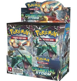 Pokemon Celestial Storm Booster Display
