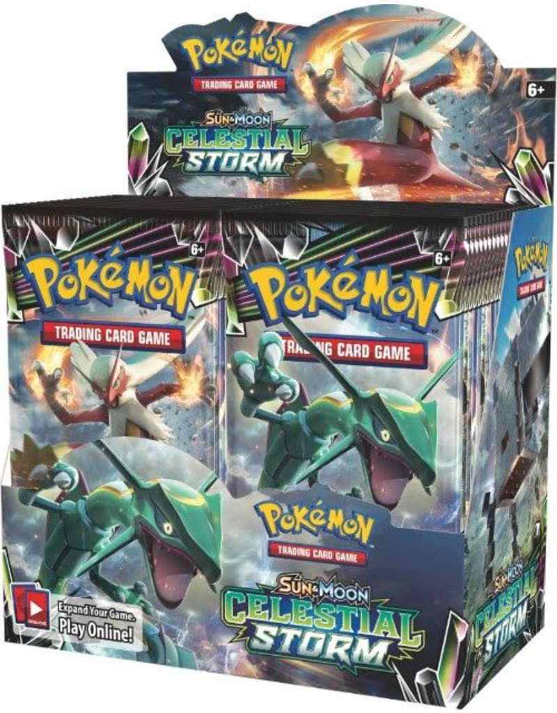 Pokemon Sun & Moon 7 Celestial Storm Booster Display Box