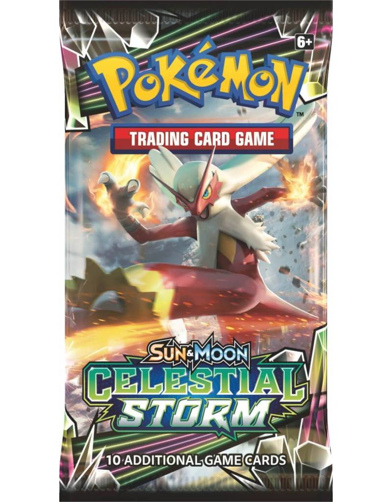 Pokemon Sun & Moon 7 Celestial Storm Booster Pack