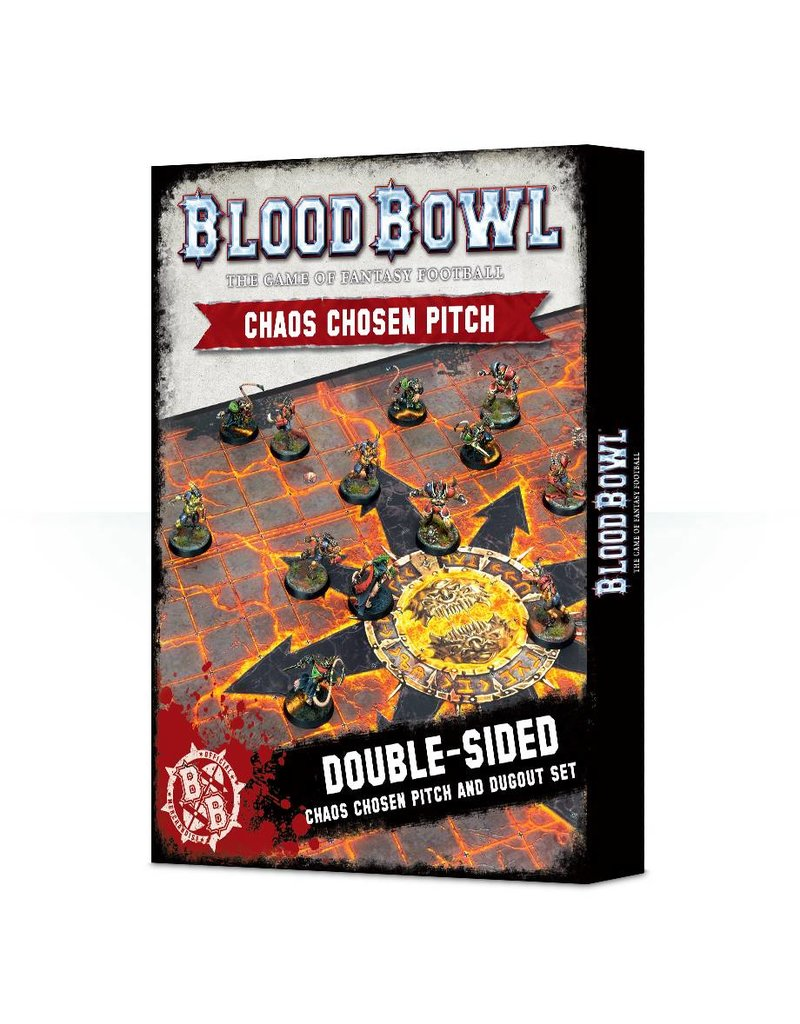 Games Workshop Blood Bowl : Chaos Pitch & Dugouts Pitch