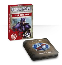 Games Workshop Dark Elf Team Cards (EN)