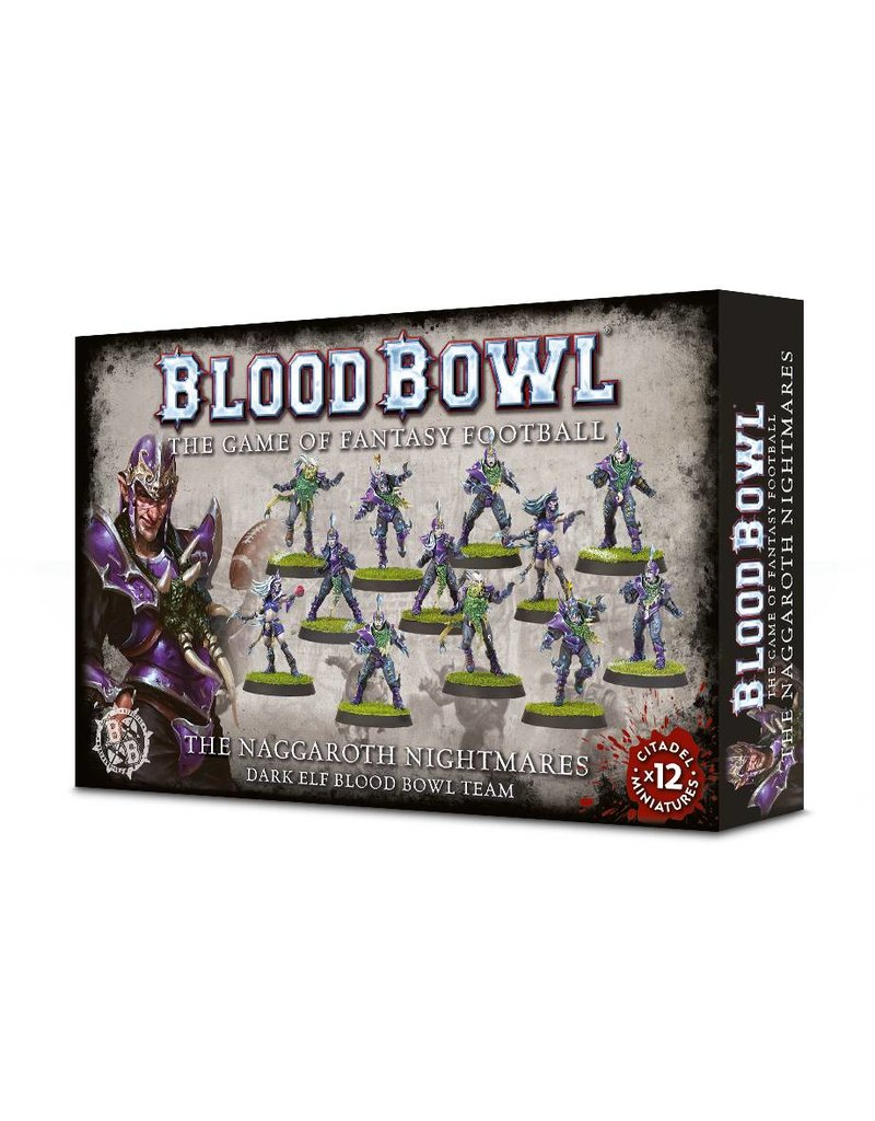 Games Workshop Blood Bowl Naggaroth Nightmares Team