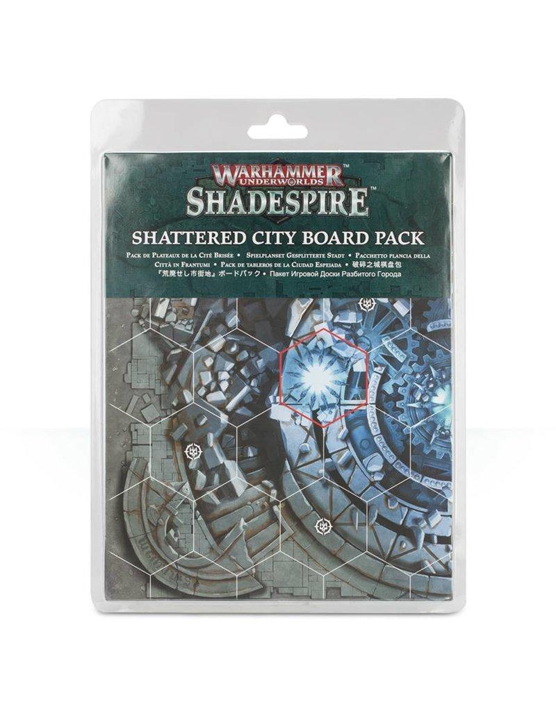 Games Workshop Warhammer Underworlds Shadespire: Shattered City Boards