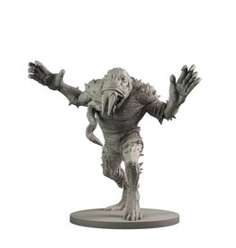 Mantic Games Resin Giant Frog Monster & Rasputin