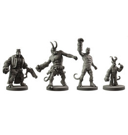 Mantic Games Resin Hellboy Collection