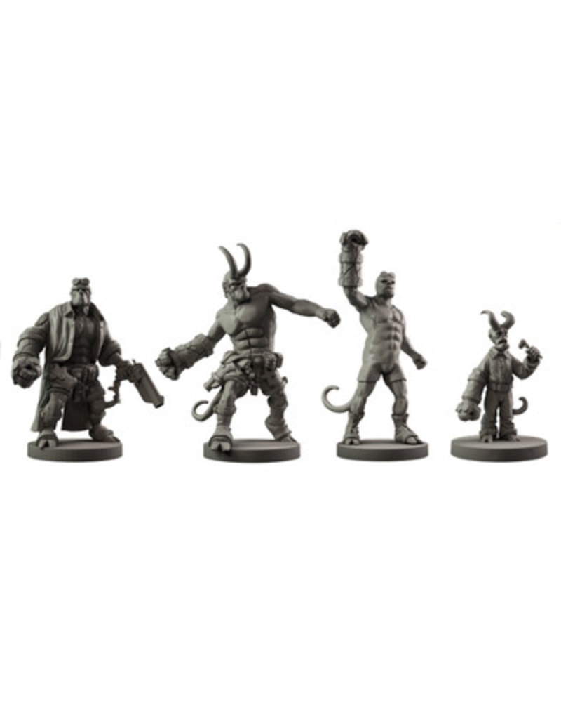 Mantic Games Hellboy Miniatures Game: Resin Hellboy Collection
