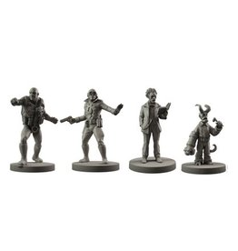 Mantic Games Resin BPRD Agents Set 2