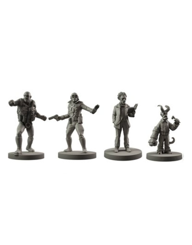 Mantic Games Hellboy Miniatures Game: Resin BPRD Agents Set 2