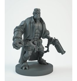 Mantic Games Resin Hellboy