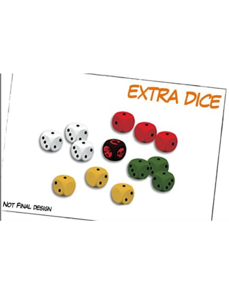 Mantic Games Hellboy Miniatures Game: Extra Dice