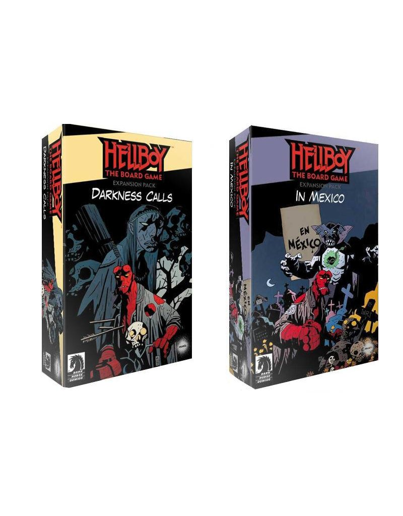 Mantic Games Hellboy Miniatures Game: Box Full of Evil Expansion Duo Pack