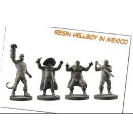Mantic Games Resin Hellboy in Mexico
