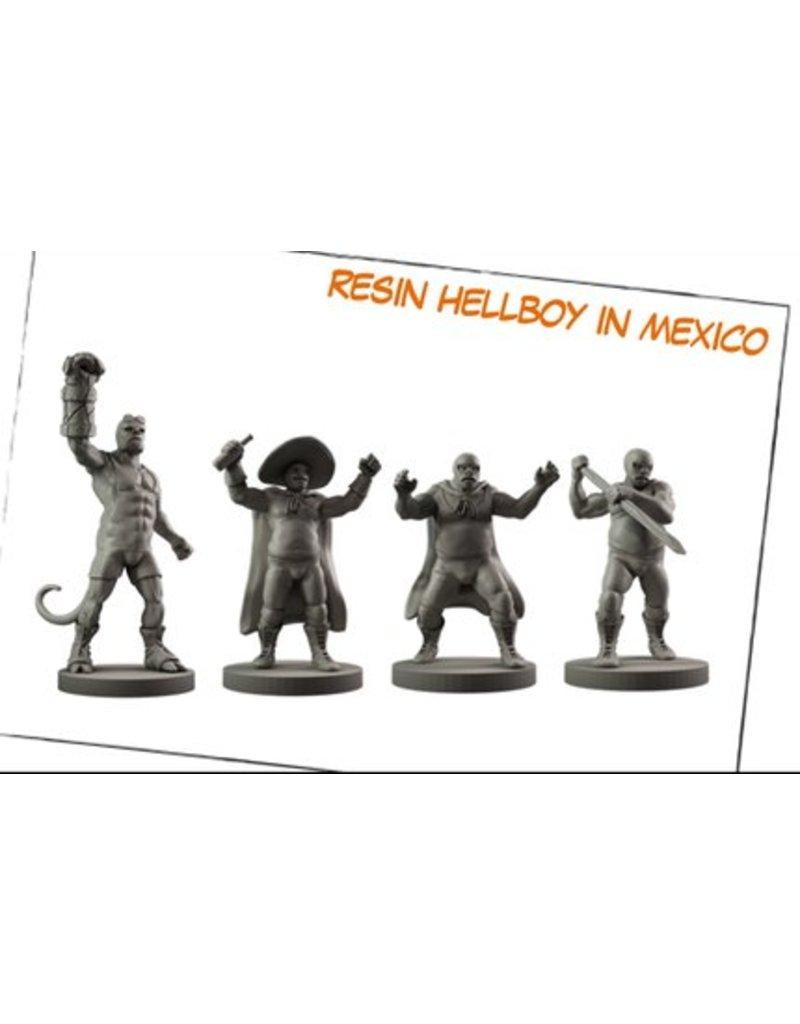 Mantic Games Hellboy Miniatures Game: Resin Hellboy in Mexico