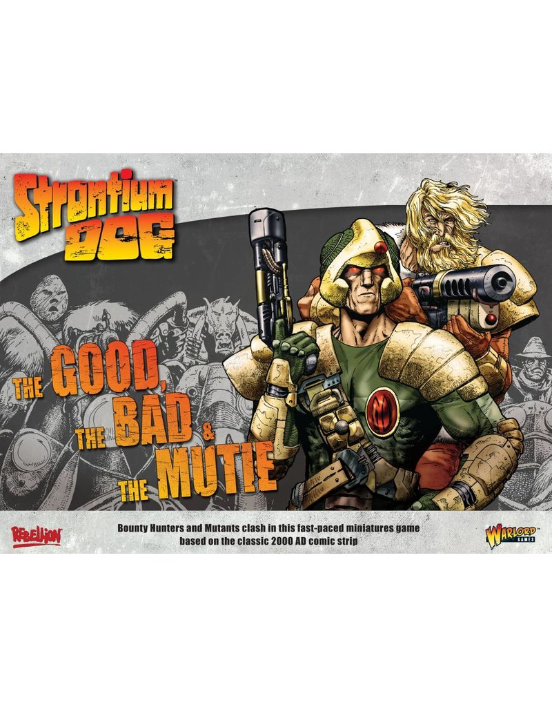 2000 AD Strontium Dog: The Good the Bad and the Mutie Core Set