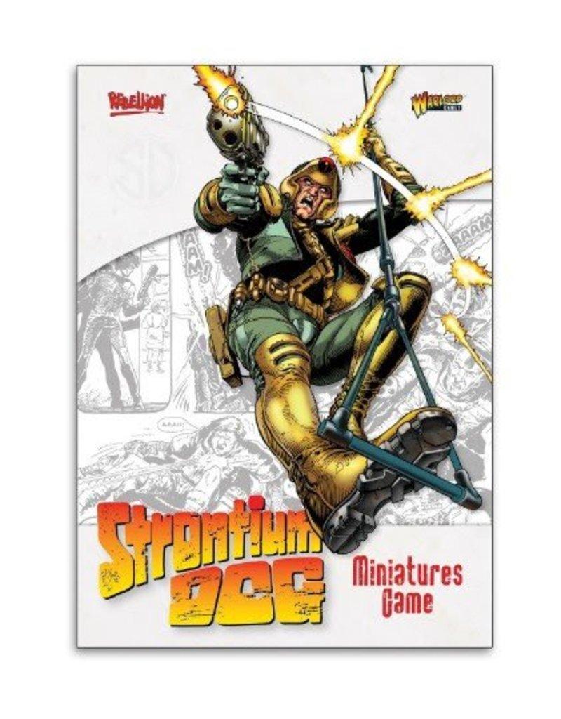 2000 AD Strontium Dog Rulebook