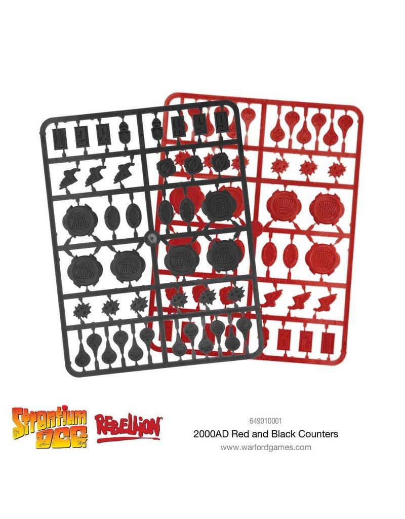 2000 AD Strontium Dog Game Tokens