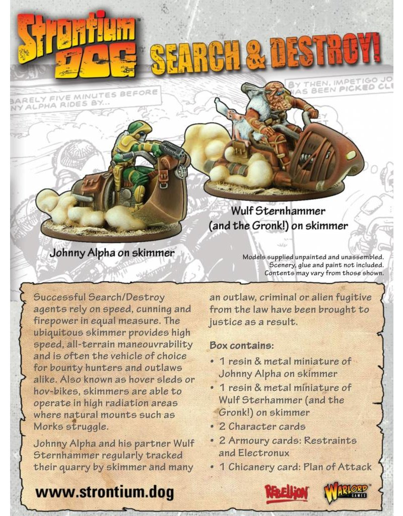 2000 AD Strontium Dog: Search & Destroy!