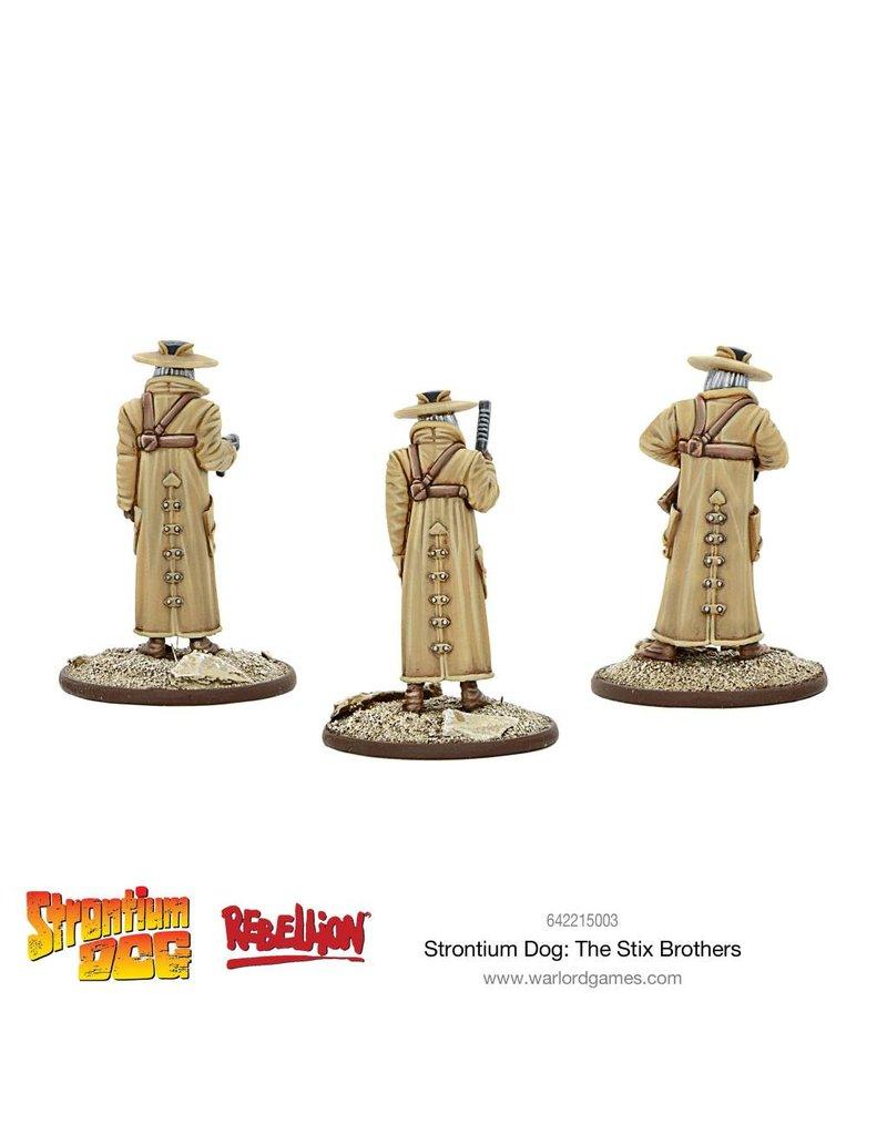 2000 AD Strontium Dog: The Stix Brothers