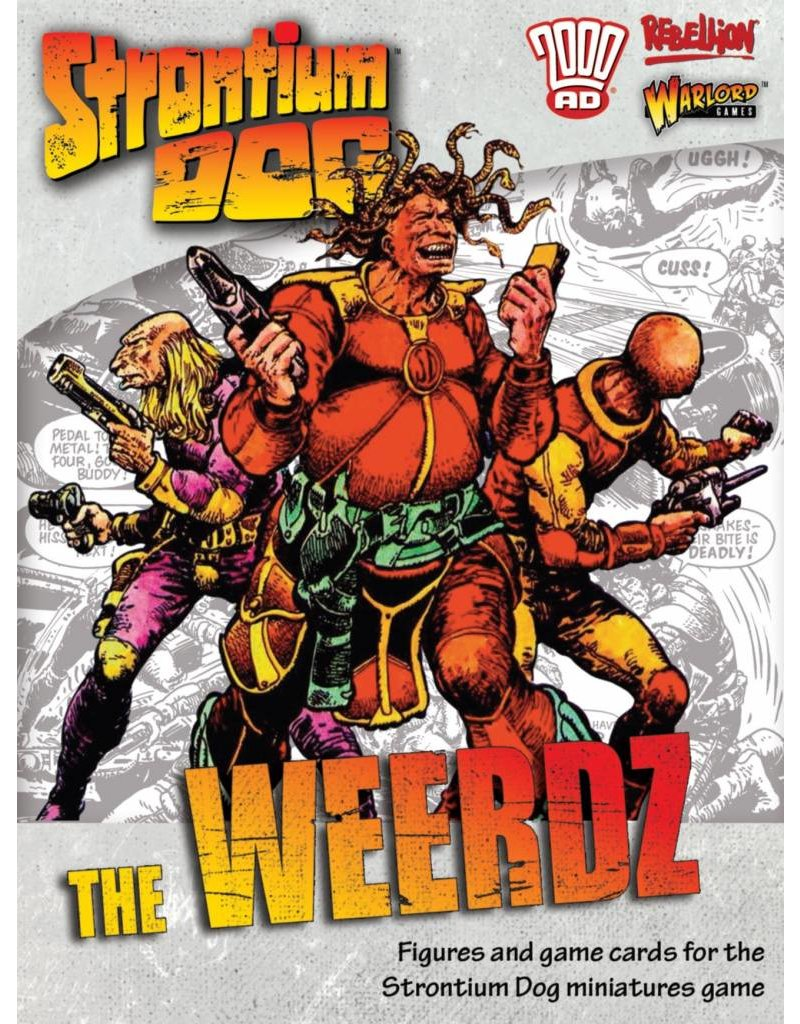 2000 AD Strontium Dogs: The Weerds