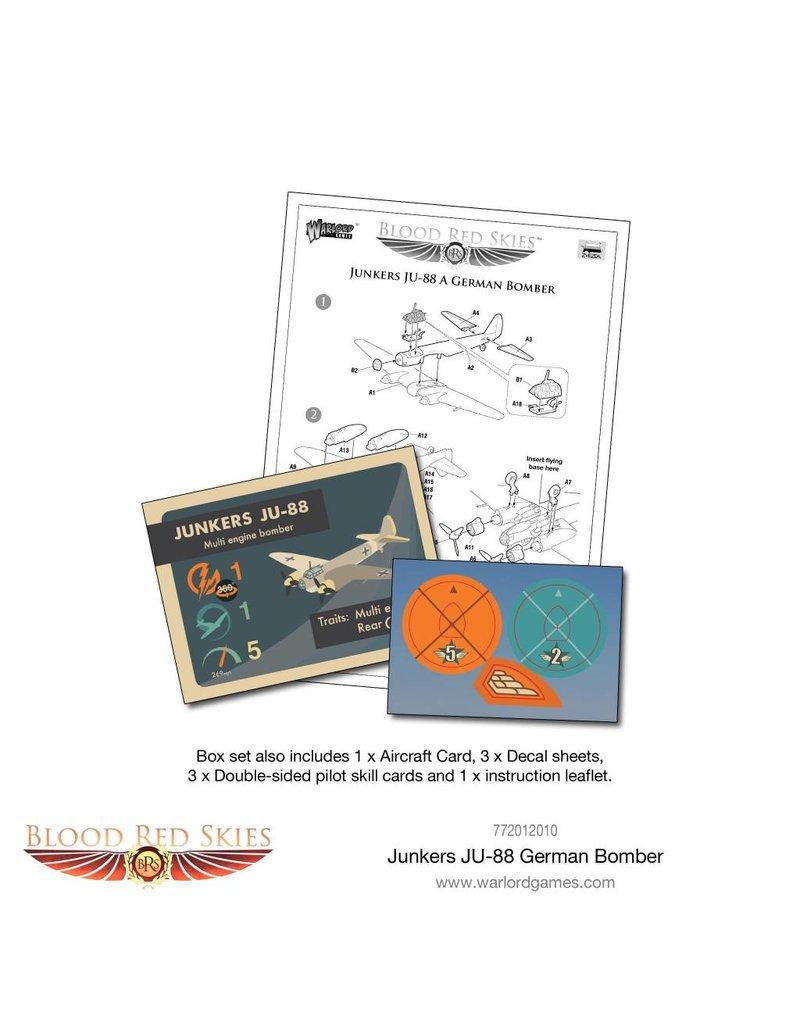 Warlord Games German Junkers JU-88 A Bomber