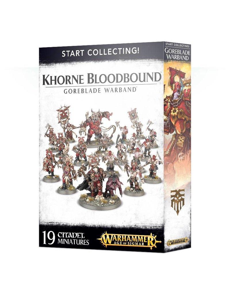 Games Workshop Khorne Bloodbound - Goreblade Warband
