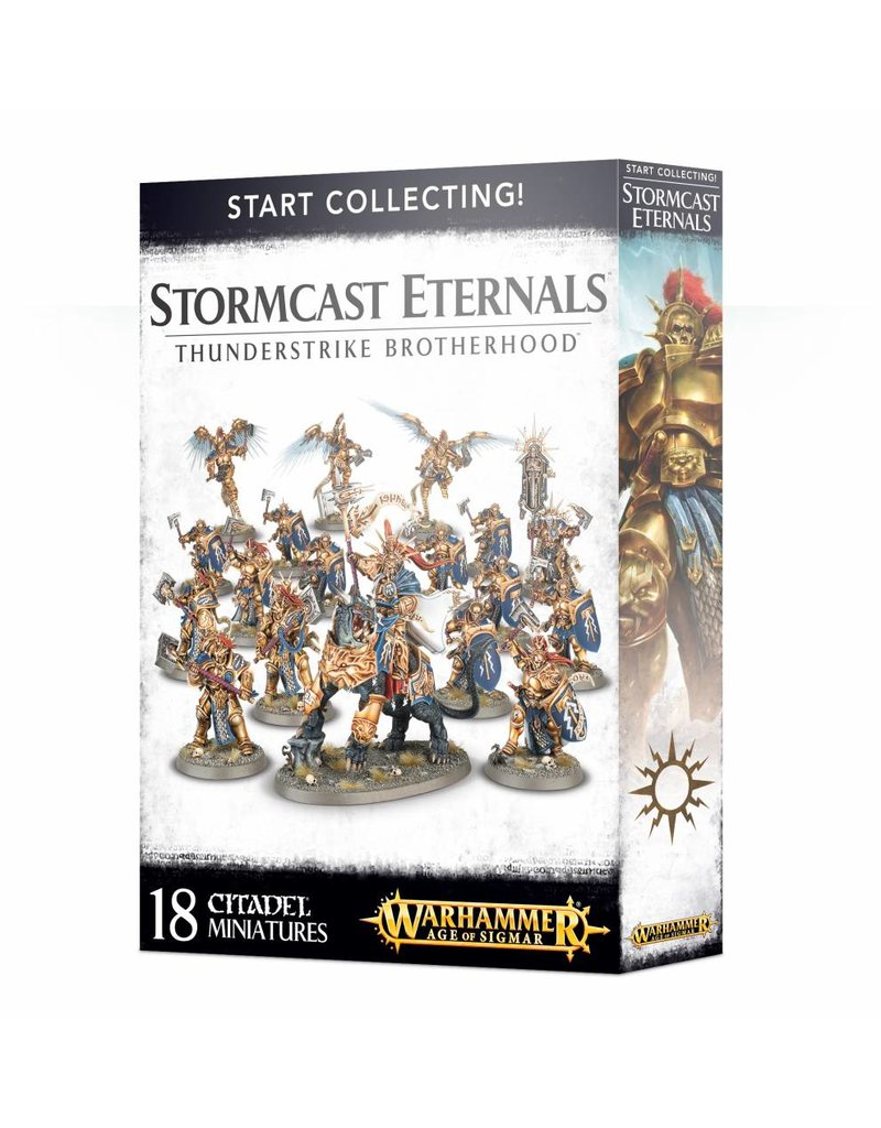 Games Workshop Stormcast Eternals: Thunderstrike Brotherhood