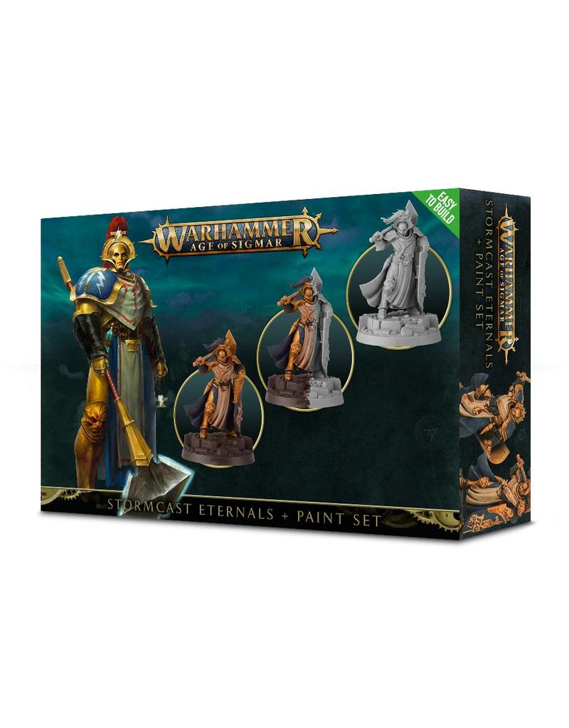 Games Workshop Stormcast Eternals Paint Set (EN)