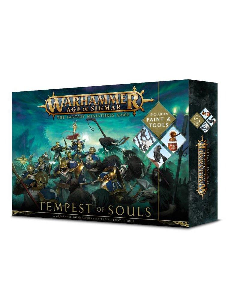 Games Workshop Age Of Sigmar: Tempest Of Souls + Paint (EN)