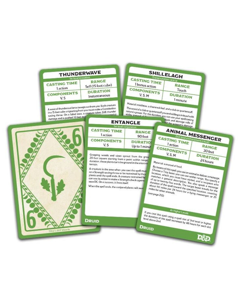 Gale Force 9 Spellbook Cards - Druid Deck