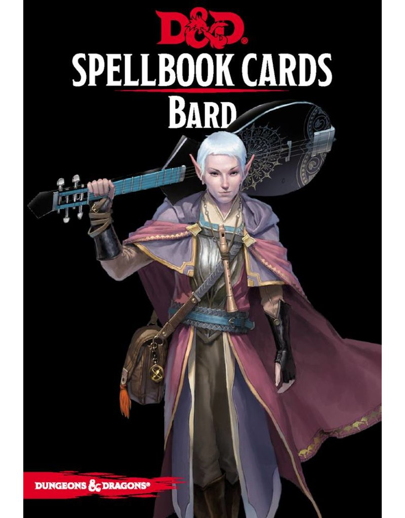 Gale Force 9 Spellbook Cards - Bard Deck