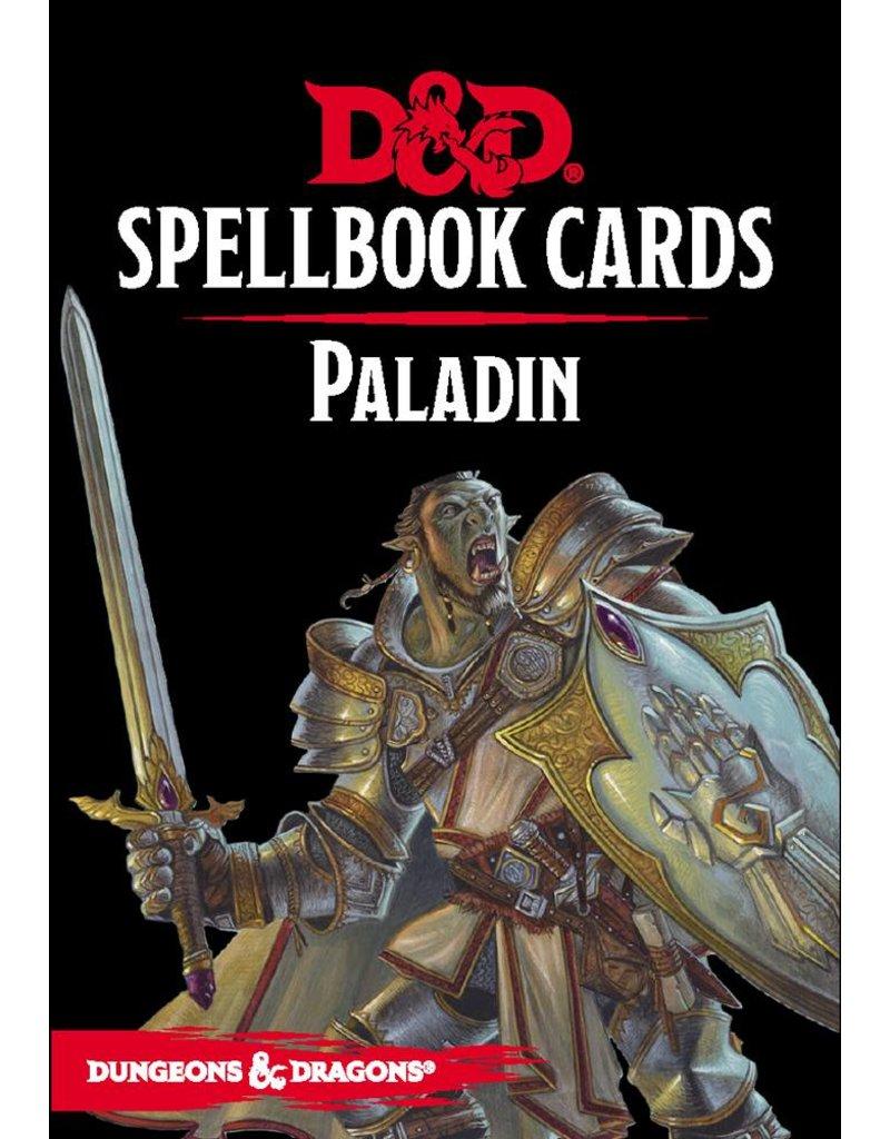 Gale Force 9 Spellbook Cards - Paladin Deck