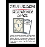 Gale Force 9 Spellbook Cards – Martial Powers & Races Deck