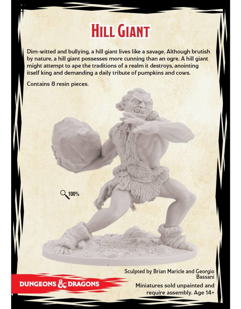 Gale Force 9 D&D Collector's Series: Hill Giant