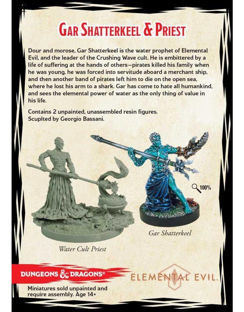 Gale Force 9 D&D Collector's Series: Gar Shatterkeel & Water Priest