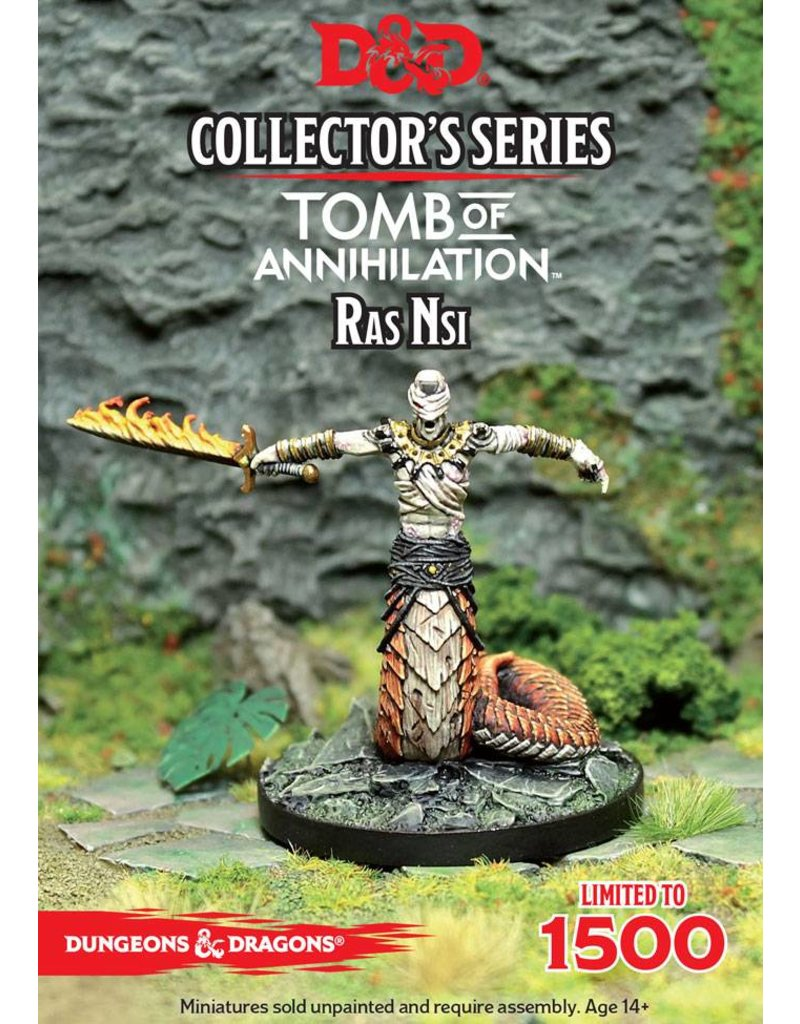Gale Force 9 D&D Collector's Series: Ras Nsi