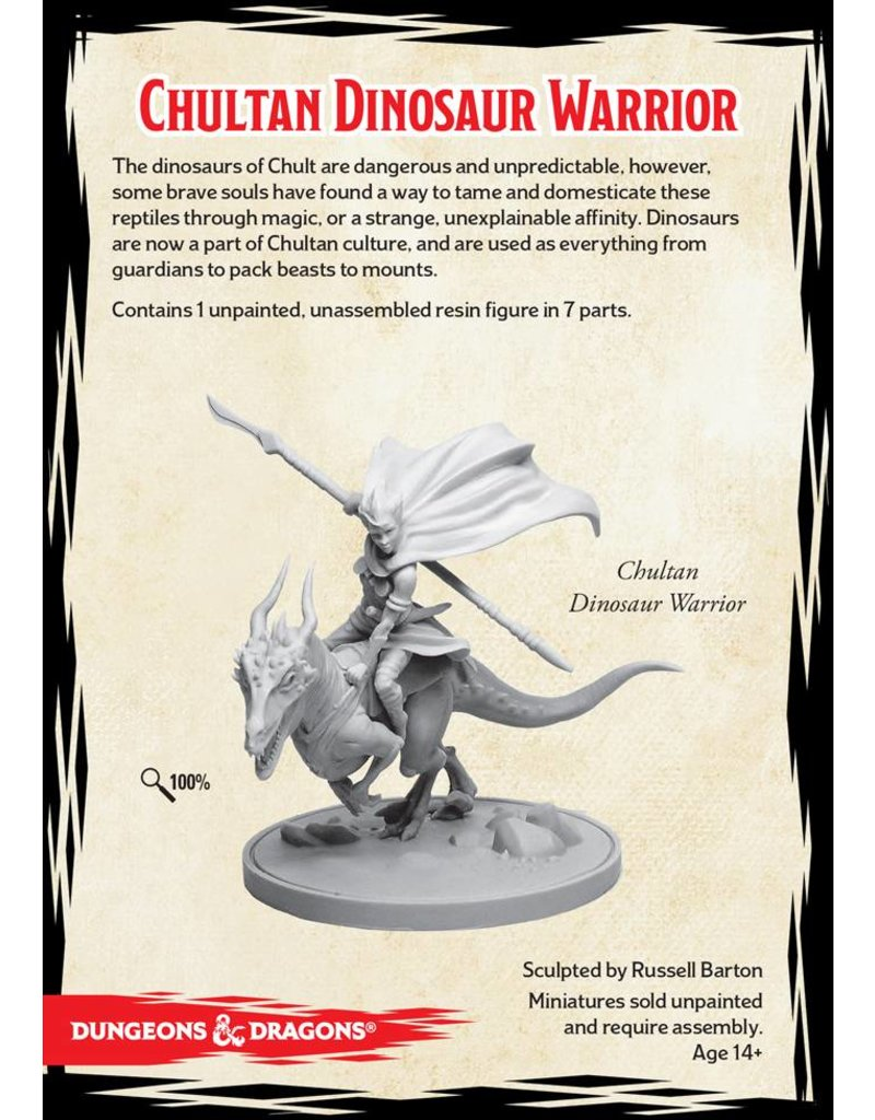 Gale Force 9 D&D Collector's Series: Chultan Dinosaur Warrior