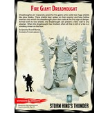 Gale Force 9 D&D Collector's Series: Fire Giant Dreadnought